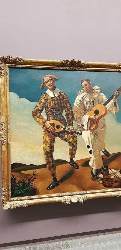 프랑스 파리 오랑주리 미술관 - 앙드레 드랭, Arlequin et Pierrot