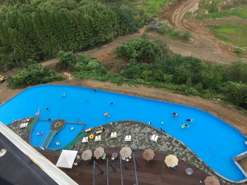 하동 비바체리조트 수영장