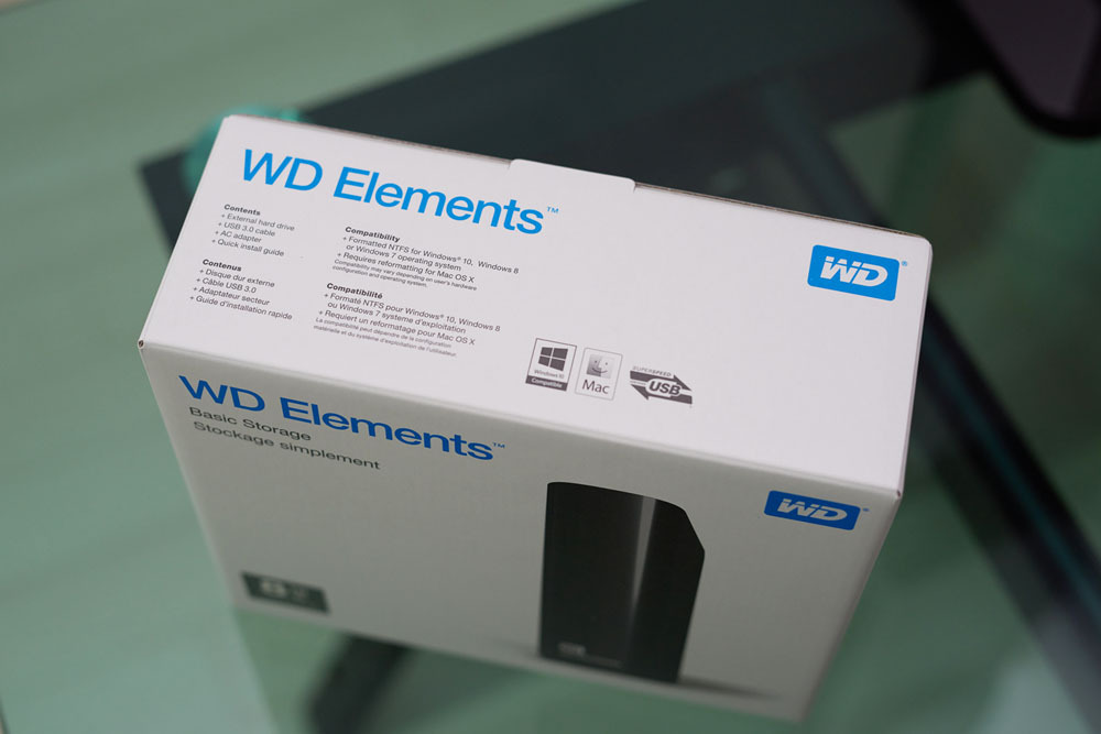 WD Elements Desktop 8TB06