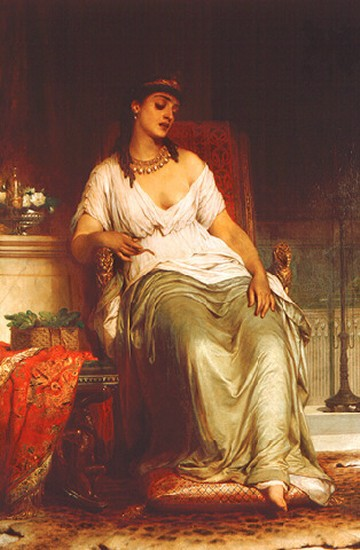 Cleopatra by Thomas Frances Dicksee