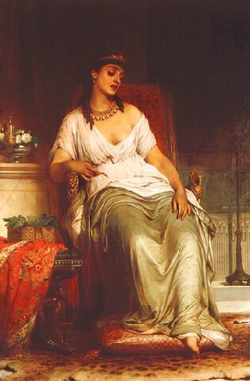 Cleopatra by Thomas Frances Dicksee