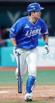 삼성 라이온즈 이원석 야구선수 홈런