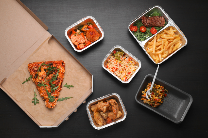Delivery Food Service in Korea