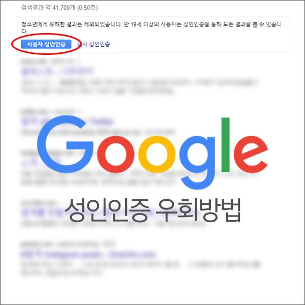 구글 성인인증 없이 검색하는 방법 (우회 접속 방법) 알아보자
