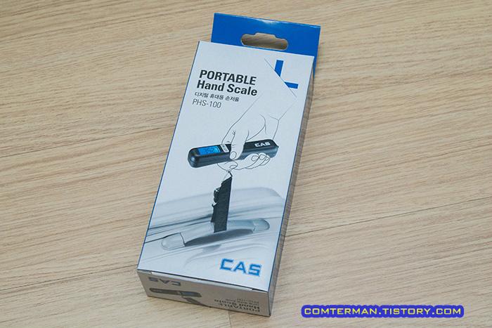 카스 휴대용 손저울 PHS-100