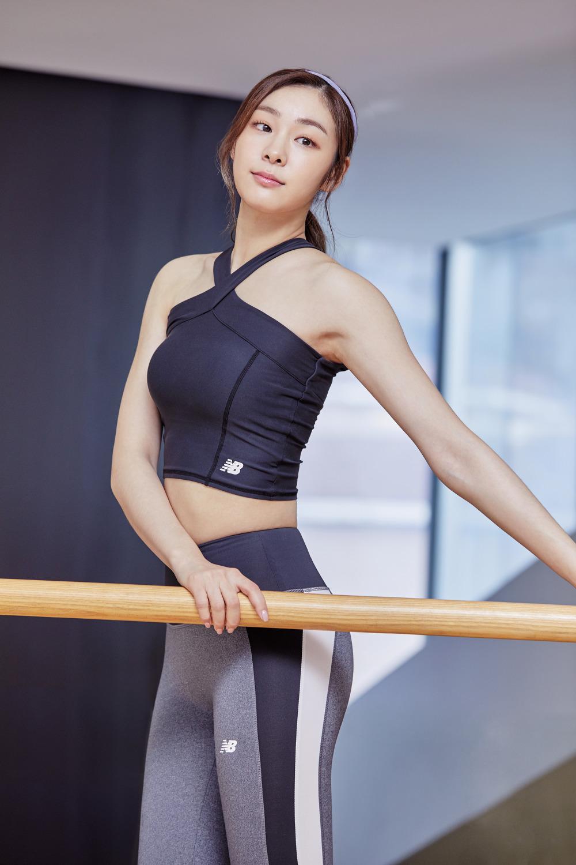 newBalance 2018ss Yuna Kim_05_WOMEN 하이웨스트 두줄 레깅스
