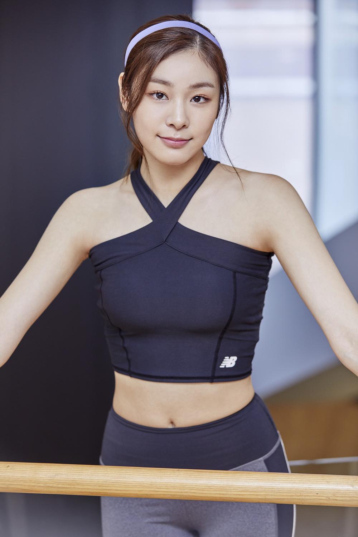 newBalance 2018ss Yuna Kim_04_연아 글램 크롭탑