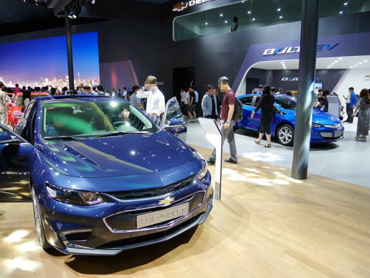 2018 부산국제모터쇼 쉐보레 Chevrolet Motor show