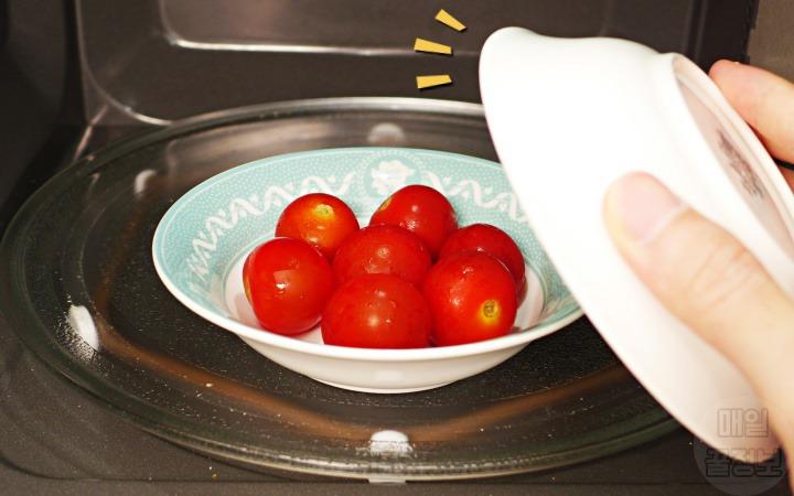 방울토마토 효능 전자렌지 익혀먹는 방법