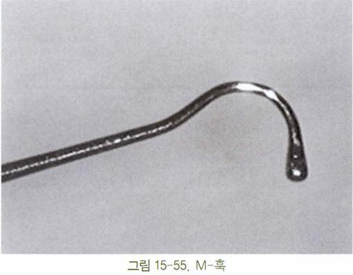 Minami M hook