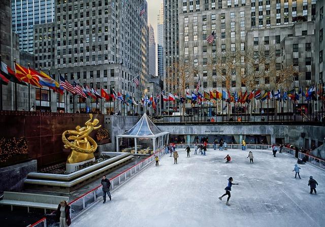 [미국 뉴욕여행] 당일로 즐기는 2층버스와 유람선을 이용한 여행 코스5 록펠러 센터