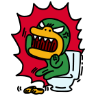화장실 분노