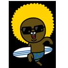 서핑을 떠나요