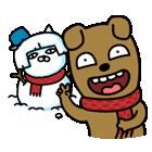 눈사람 브이