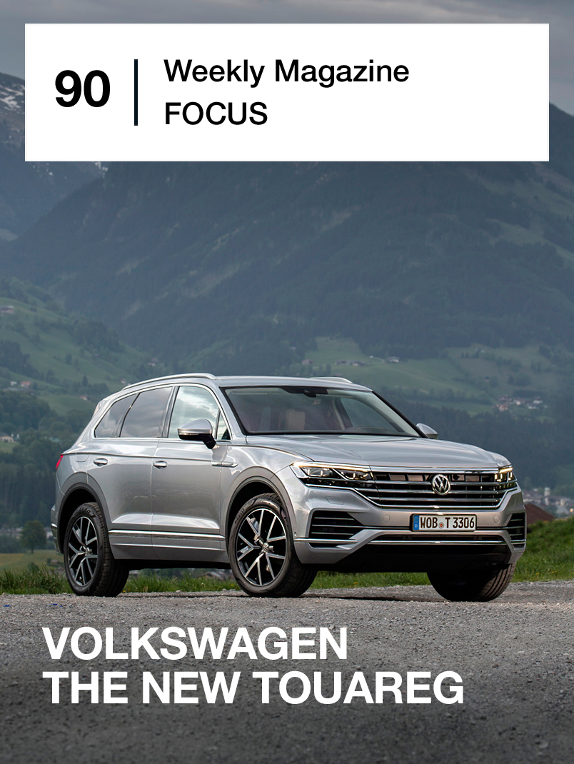 Volkswagen The new Touareg