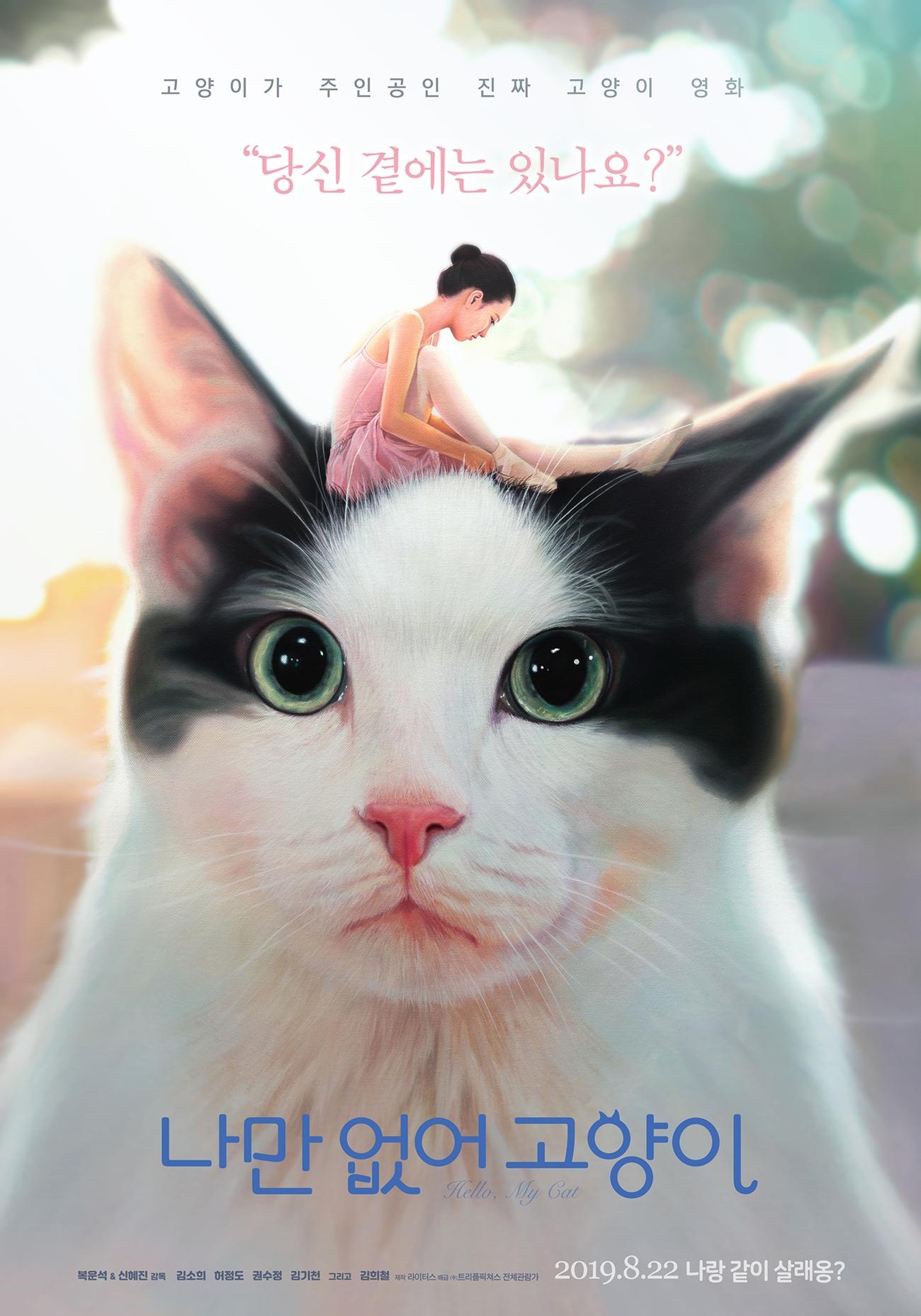 나만 없어 고양이 포스터