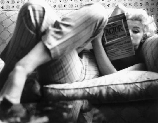 메릴린 먼로의 섹시미, 독서로 완성됐다