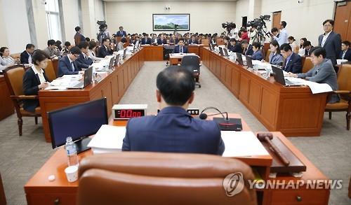 국회 환경노동위원회 [연합뉴스 자료사진]