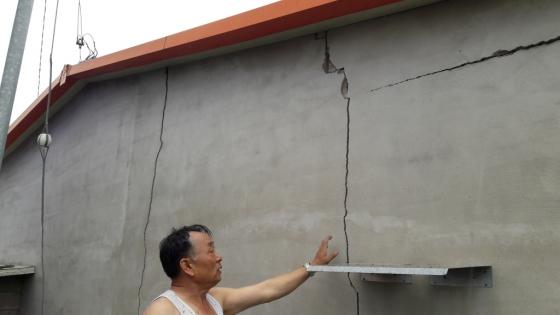 지난 9월 경주 강진으로 벽이 갈라진 경주시 황남동 주택가. 이르면 내년 하반기부터 신축하는 모든 주택에 대한 '내진설계'가 의무화 된다./사진=뉴스1