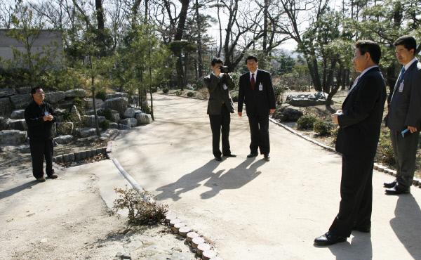 2007년2월23일 녹지원 산책 ⓒ 장철영