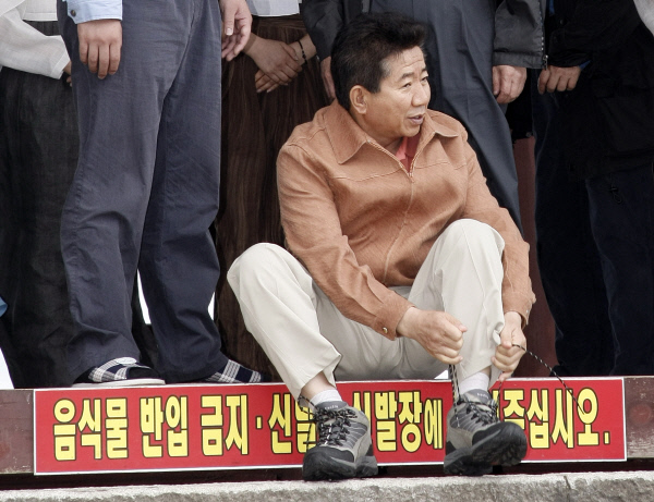 2007년7월14일  밀양 영남루에서 ⓒ 장철영