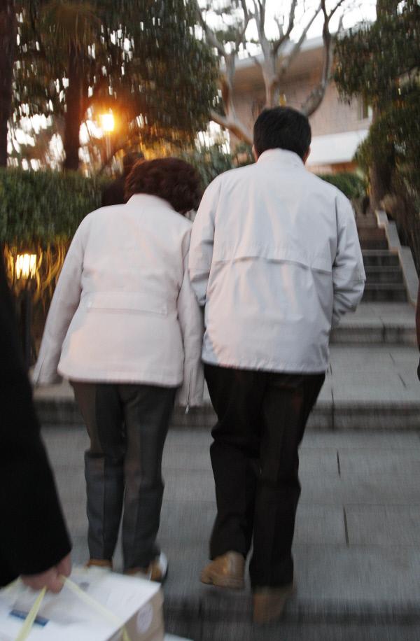 2008년 2월 3일 저도 도착 ⓒ 장철영