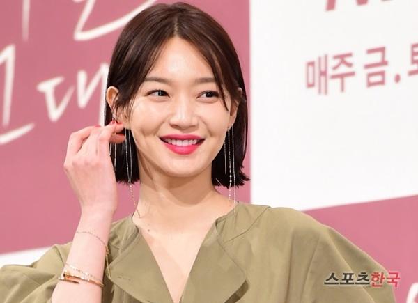 배우 신민아가 '내일 그대와' 제작발표회에 참석했다. 사진=이혜영기자 lhy@hankooki.com
