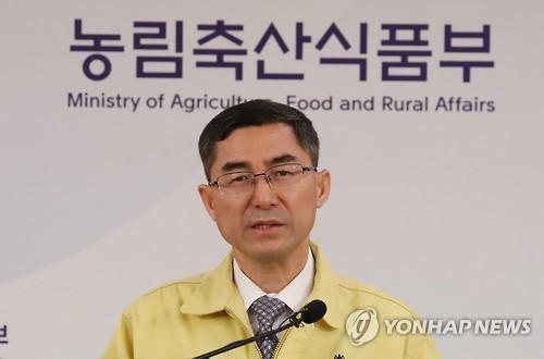 이준원 농림축산식품부 차관 [연합뉴스 자료사진]