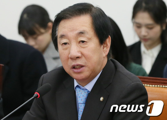 김성태 자유한국당 의원. /뉴스1 © News1 송원영 기자