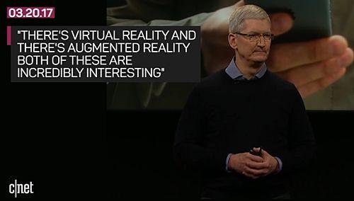 애플이 수백 명의 엔지니어를 투입해 증강현실에 공격적으로 투자하고 있다. (사진=씨넷)