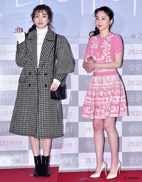 한효주(왼쪽), 안소희