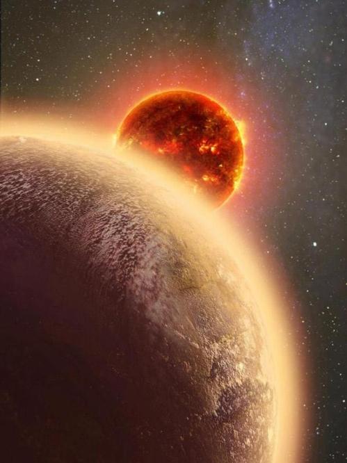 돛 별자리에 있는 지구와 비슷한 행성 GJ 1132b의 상상도[위키미디어 제공]