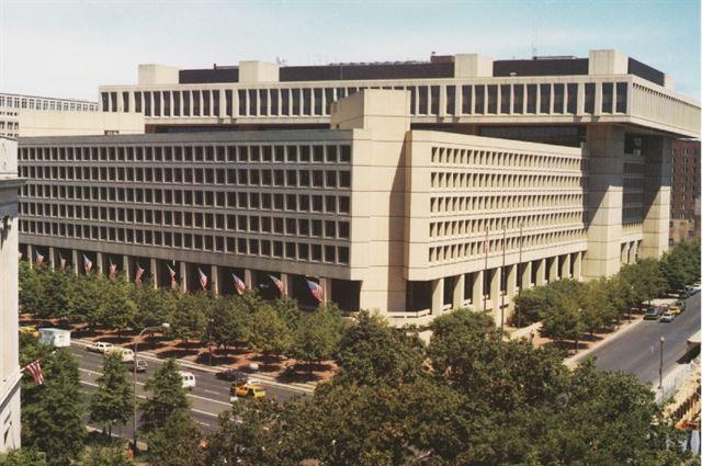 미국 워싱턴DC FBI 본부 건물.   자료:FBI