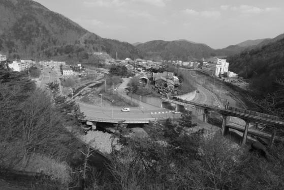 박병문씨의 고향인 강원도 태백시 장성광업소 정경. 2014년 모습이다.[사진 박병문]