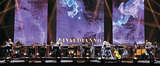 체코 작곡가 미할 드보르자크가 기획한 '비발디아노'. 클래식과 미디어아트를 결합했다. [사진 로네뜨]