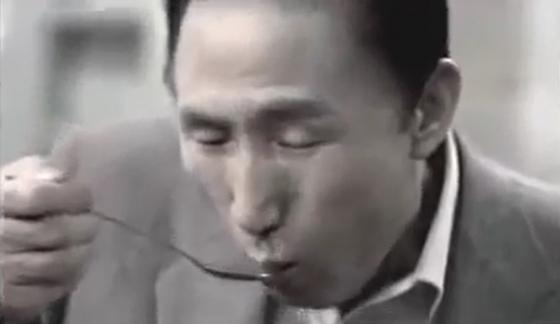 이명박 전 대통령의 대선 TV 광고의 한 장면.