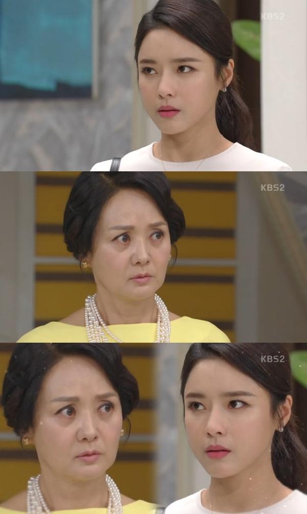 오지은이 배종옥을 향한 복수를 다짐했다. KBS2 '이름 없는 여자' 캡처