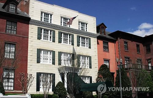 문재인 대통령 부부는 미국 워싱턴 D.C.에 머무는 28일부터 나흘간 블레어 하우스를 숙소로 사용한다.