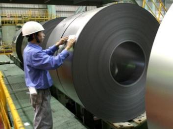 바오산철강의 상하이 공장.올해 바오산철강과 우한철강이 합병해 세계 2위 생산규모의 바오우철강이 탄생했다. /블룸버그