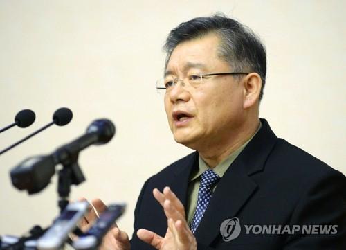 북한에 억류됐다가 31개월만에 풀려난 한국계 캐나다인 임현수 목사 [연합뉴스 자료사진]