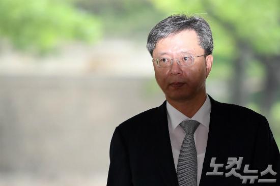 국정농단 방조 혐의를 받는 우병우 전 청와대 민정수석비서관. (사진=박종민 기자/자료사진)