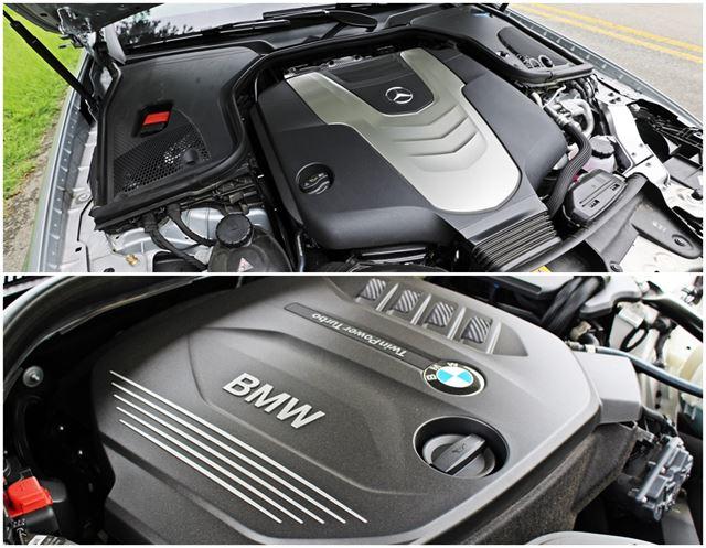 E 350d와 520d는 배기량이 달라 직접적인 맞비교가 불가하다