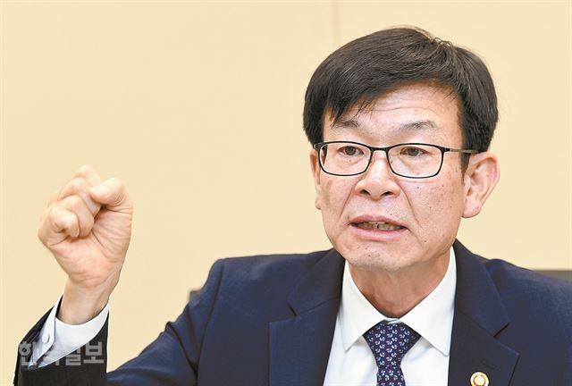 김상조 공정거래위원장. 홍인기 기자