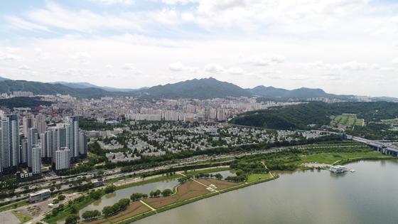 서울 서초구 반포 주공1단지 전경. [사진 GS건설]