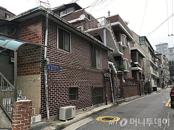 서울 영등포구 신길동 소재 빌라. /사진=신현우 기자