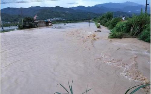 폭우 피해 발생한 중국 윈난성 [중국국제라디오 화면 캡처]
