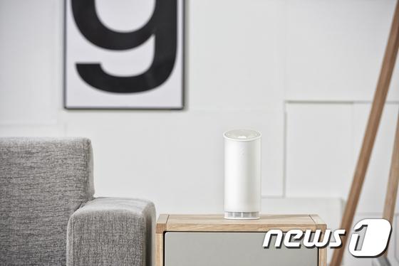 SK텔레콤이 자체기술로 개발해 31일 공개한 음성인식 기반 인공지능(AI) 서비스 '누구'. © News1
