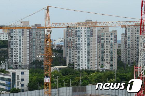 아파트 건설현장 © News1