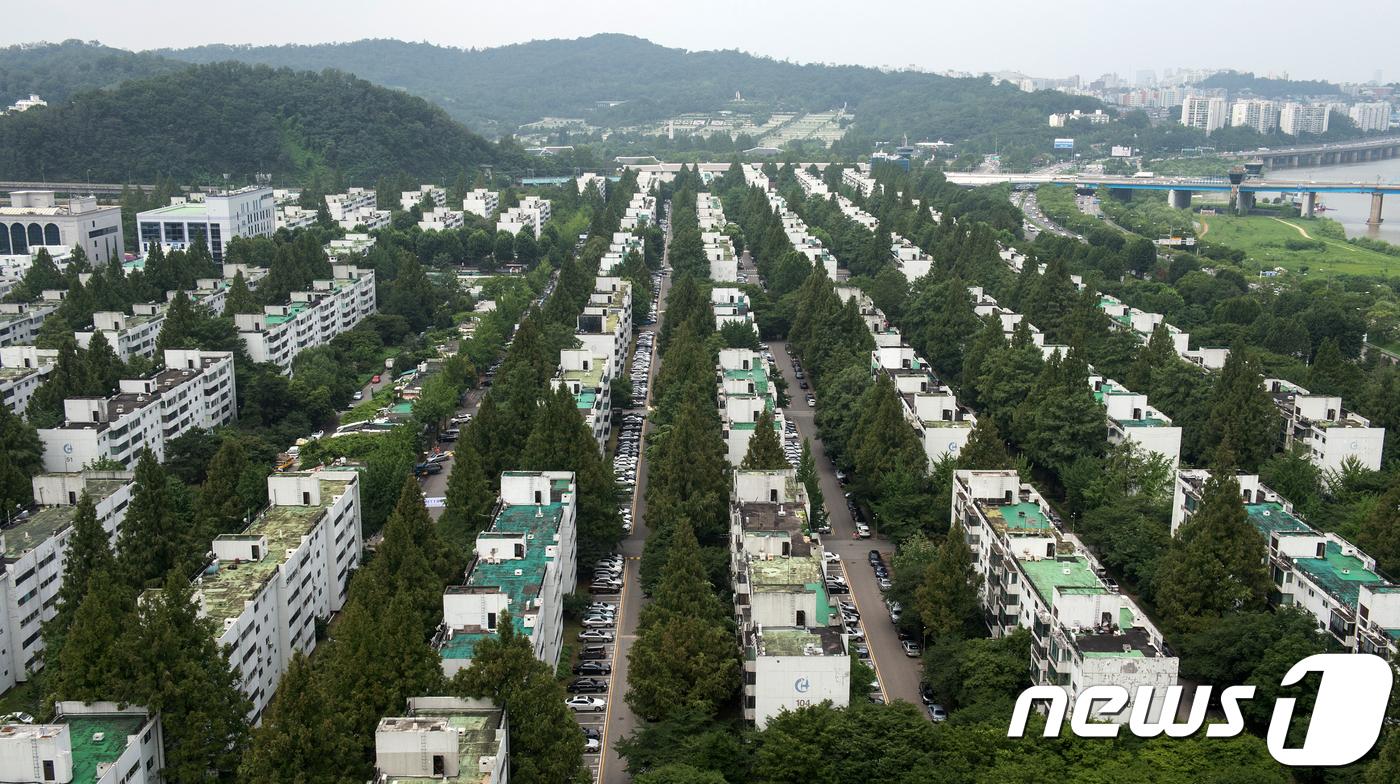 서울 서초구 반포주공1단지 모습.(뉴스1 자료사진)© News1 이승배 기자