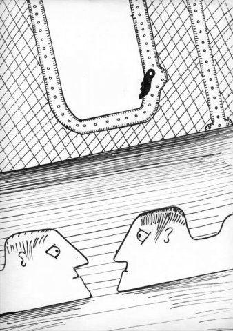 스타니스와프 렘이 '항성일기'에 그린 삽화. 렘 공식 사이트
